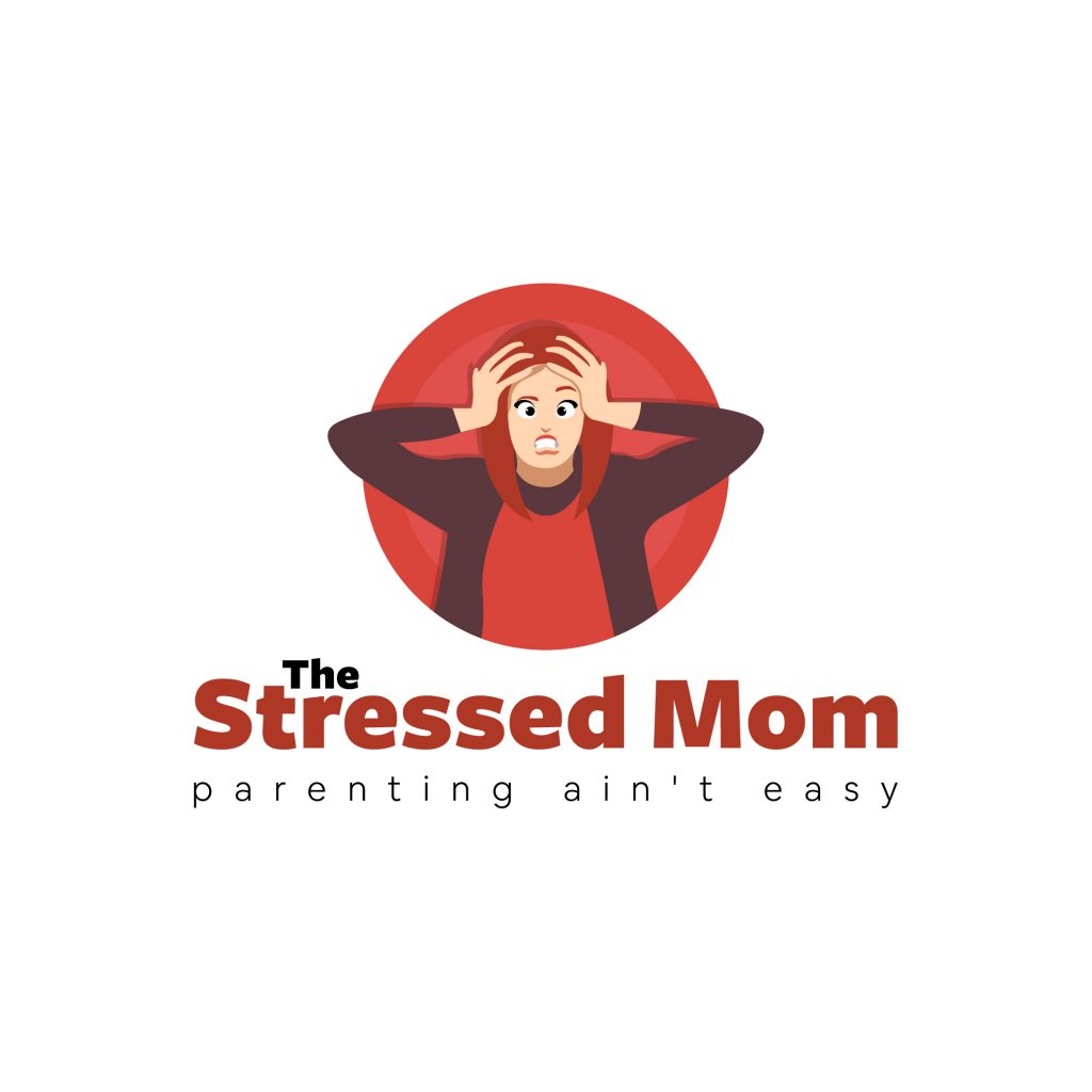 logo for the stressed mom blog